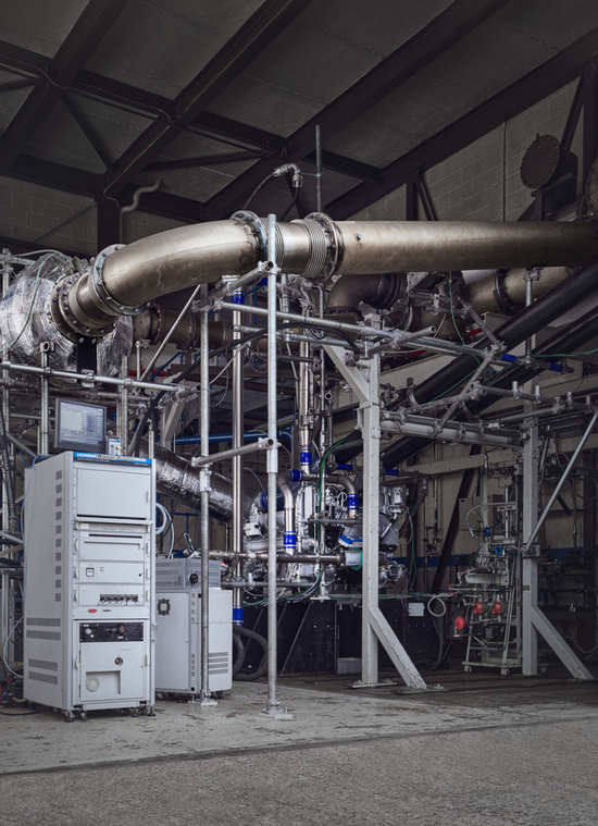 Test lab at Ricardo, UK